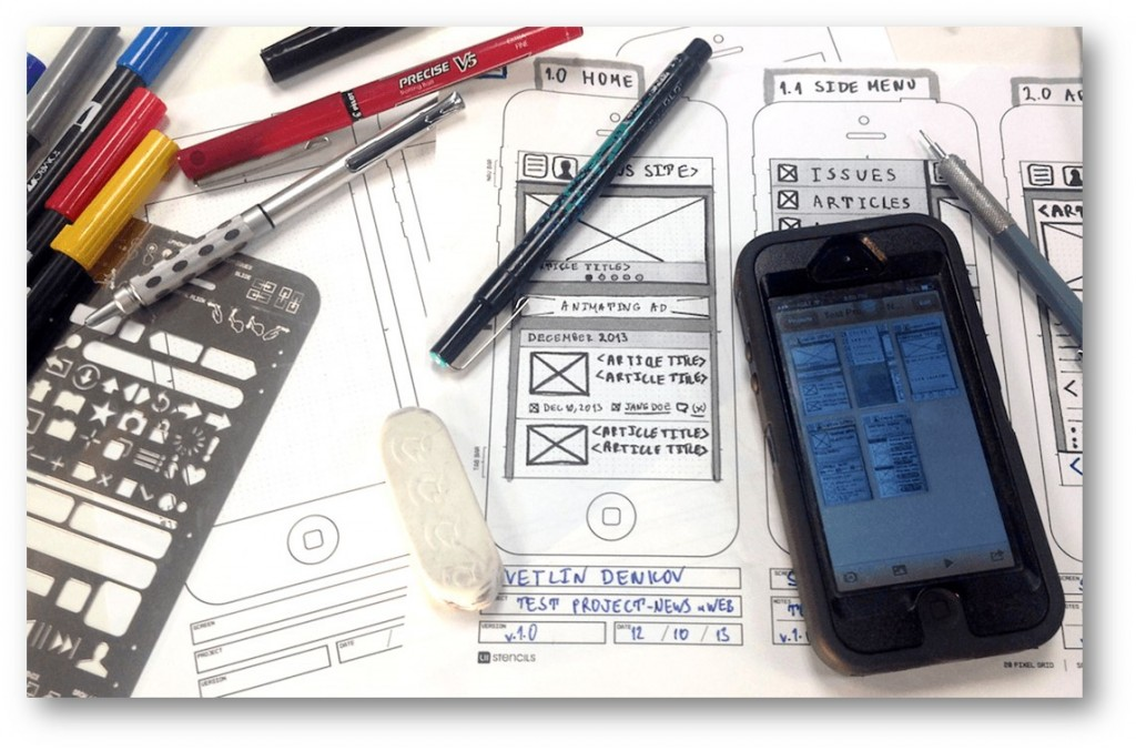 Prototyping toolkit of a UX practitioner