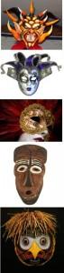 personas viene de máscaras