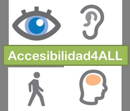 Accesibilidad, sección del sitio web ampliada