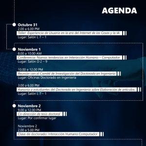 agenda actividades