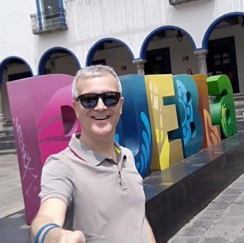 Toni en Puebla